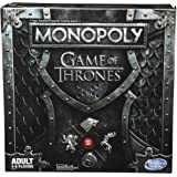 Monopoly - Game of Thrones Edition - Winterfell Castle, Westeros - 2 to 6 Players - Hasbro Gaming E3278 - Adult Board Games -