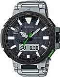 [カシオ] 腕時計 プロトレック MANASLU 電波ソーラー PRX-8000T-7BJF シルバー