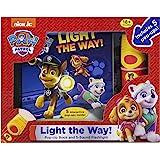 Nickelodeon PAW Patrol - Light the Way! A Little Flashlight Adventure Sound Book - PI Kids