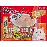 チャオ (CIAO) 猫用おやつ ちゅ~る とりささみバラエティ 14g×40本入