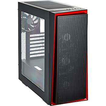 SilverStone Redline CASE ATX ブラック+レッドアクセント SST-RL06BR-PRO