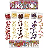 New in Australia! Introduction Price Promotion, Gin Tonic Botanicals Flowers Garnish Gift Set - by Te Tonic