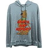 Scooby Doo Ladies Fashion Hoody Burnout Fleece Hoody