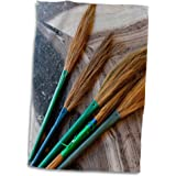 "3D Rose Jammu and Kashmir Ladakh Leh brooms in a Buddhist temple. twl_188098_1 Towel, 15"" x 22"""