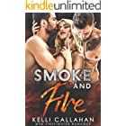 Smoke and Fire: A MFM Firefighter Romance (Surrender to Them Book 1)
