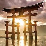 世界遺産 iPad壁紙 厳島神社の大鳥居