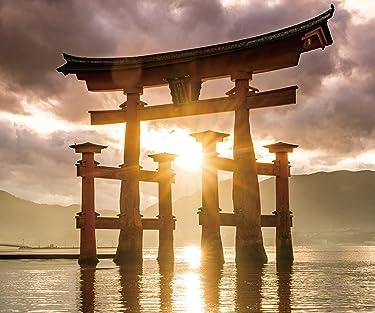 世界遺産  iPhone/Androidスマホ壁紙(960×800)-1 - 厳島神社の大鳥居