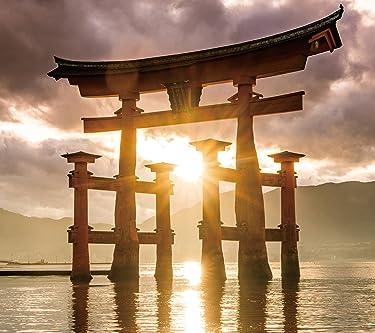世界遺産  iPhone/Androidスマホ壁紙(1080×960)-1 - 厳島神社の大鳥居