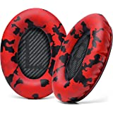 WC Premium Replacement Ear Pads for Bose Headphones Made by Wicked Cushions - Supreme Comfort - Compatible with QC35 & 35ii /
