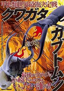 甲虫類世界最強決定戦 クワガタ×カブトムシ [DVD]