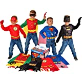 Rubie's Imagine DC Comics Children's Dress up Trunk with Superman, The Flash, Batman and Robin