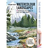 The Paint Pad Artist: Watercolour Landscapes: 6 Beautiful Pictures to Pull out and Paint