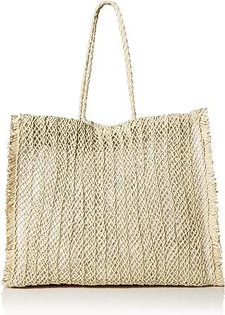 Seafolly レディース 大きめ編み かぎ針編み ビーチバッグ 持ち帰り ナチュラル ワンサイズ