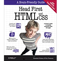 Head First HTML and CSS: A Learner's Guide to Creating Stand…
