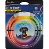 NiteHowl LED Safety Necklace, Universal, Reusable Visibility Necklace for Pets