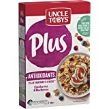 Uncle Tobys Plus Antioxidant Breakfast Cereal, Cranberries & Blueberries, 435g