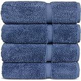 Chakir Turkish Linens Luxury Hotel & Spa Bath Towel Turkish Cotton (Wedgewood)
