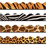Trend Enterprises Animal Prints Terrific Trimmers Variety Pack (T-92917)