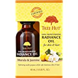 Tree Hut Shea Moisturizing Radiance Oil Marula & Jasmine, 1.6oz, Ultra Hydrating Oil for Nourishing Essential Body Care