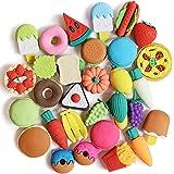 Mr. Pen- Food Erasers, Erasers, 30 Pack, Erasers for Kids, Fun Erasers, Fun Erasers for Kids, Food Erasers for Kids, Fruit Er