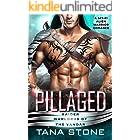 Pillaged: A Sci-Fi Alien Warrior Romance (Raider Warlords of the Vandar Book 3)