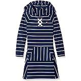 Tommy Hilfiger Girls Hooded Sweatshirt Dress Long Sleeve Casual Dress