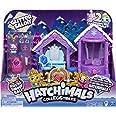 Hatchimals 6047221 Colleggtibles Glitter Salon Playset with 2 Exclusive Hatchimals