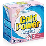 Cold Power Sensitive Pure Clean, Powder Laundry Detergent, 2kg, Suitable for Front and Top Loaders