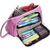 Mr. Pen- Pink Pencil Case, School Supplies, Pencil Pouch, Pen Bag, Pencil Case Organizer, Pencil Pouch Large, Large Pencil Ba