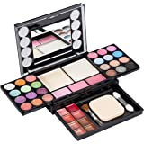 Eyeshadow Palette LT Makeup Palette 37 Bright Colours Matter and Shimmer Lip Gloss Blush Brushes Cosmetic Makeup Eyeshadow Hi
