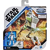Star Wars Mission Fleet Expedition Class Captain Rex Clone Combat 2.5-Inch-Scale Figure and Vehicle, Toys for Kids Ages 4 and