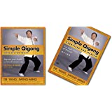 Bundle: Simple Qigong Exercise DVD and qigong book for BEGINNERS - Eight Brocades / Ba Duan Jin (YMAA chi kung exercise) Dr.