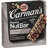 Carman's Nut Bar Dark Choc Espresso, 5, 160 g