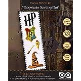 Cross-Stitch Kit of Bookmark 'Sorting Hat'