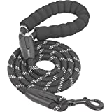 iYoShop 6FT Strong Dog Leash with Comfortable Padded Handle and Highly Reflective Threads Dog Leashes for Small Medium and La