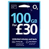「O2 」O2 イギリス他ヨーロッパ各国対応 プリペイドSIM (30日間 20GB 5000分無料通話)
