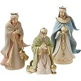 Enesco Foundations Three Wise Men Figurine, 10 Inch, Multicolor