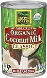 海外直送品 Native Forest Organic Coconut Milk Unsweetened -13.5 fl oz オーガニック ココナッツミルク