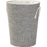 Store Smart Nile Laundry Hamper Storage Basket, White/Black