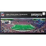 MasterPieces NFL New England Patriots Stadium Panoramic Jigsaw Puzzle, 1000-Piece