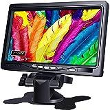[178°全視野モニター] 1080P IPS 7インチ モニター HDMI 液晶小型ディスプレイ(1024×600) HD内蔵スピーカー付き HDMI VGA AVポート 監視カメラ用/DSLR/PC/DVD Raspberry Pi (ラズベリー