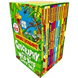 Horrible Geography 12 Books Box Collection Set by Anita Ganeri (Wild Islands, Violent Volacanoes, Stormy Weather, Raging Rive