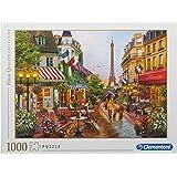 Clementoni 39482 39482- Collection Puzzle-Flowers in Paris-1000 Pieces, Multi-Coloured