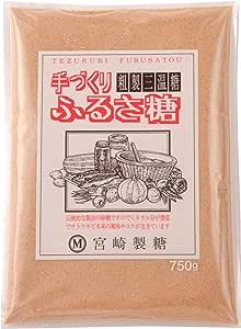 宮崎製糖 ふるさ糖(粗製三温糖) 750g