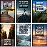 Inspirational Wall Art. Motivational Posters For Classroom Decor. Great Positive Quotes And Office Wall Art. Teen Bedroom Dec