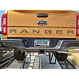 EyeCatcher Tailgate Insert Letters fits 2019 Ford Ranger (Gloss Graphite)