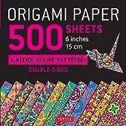 Origami Paper 500 Sheets Kaleidoscope Patterns 6