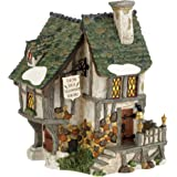 Department 56 Dickens Village Six Jolly Fellowship Porters Lit House, 6.9-Inch