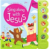 Hello 2 Kids Sing Along with Jesus - Early Bird Christian Sound Book Musical Toy - 6 Bible Songs & Illustrations | Gift for B