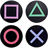 Paladone Playstation Metal Drink Coasters, Set of Four Coasters